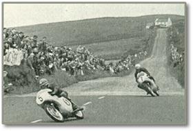 '50年代マン島レースの様子